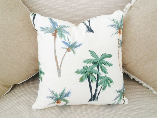 Deserted Island Cushion