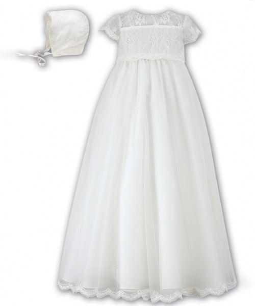 'Ella' Christening Gown Set