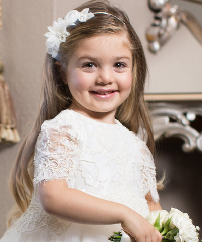 Flower Girl Hair Accessories Sydney  ba1b9c264c1