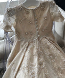 Aurora Pearl Couture Christening Gown