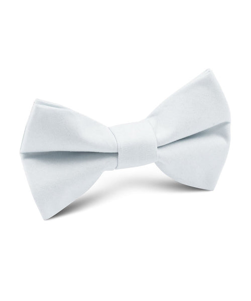 Ice Blue Cotton Bow Tie