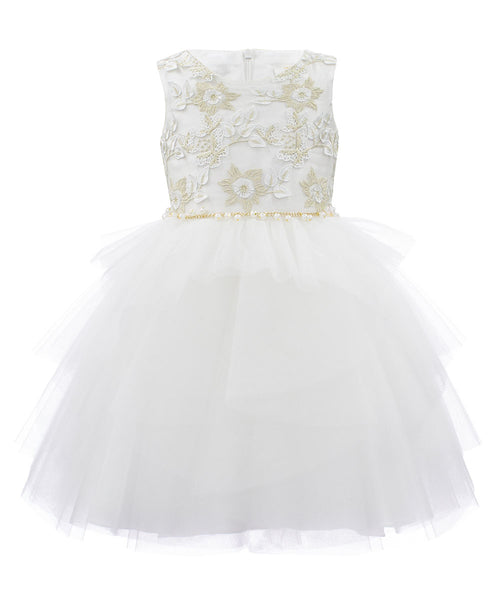 David Charles Karina Dress - Ivory