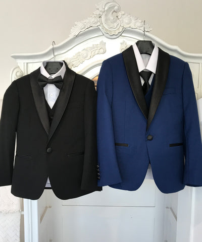 Five Piece Slim Fit Classic Tuxedo Suit