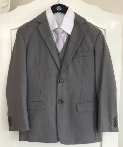 Light Grey Five Piece Suit Set