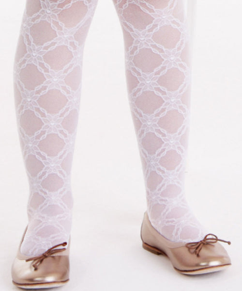 Floral Fine Italian Stockings