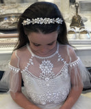 Handcrafted Crystal & Pearl Hairpiece Collection