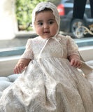 'Queen Antonia' Couture Christening Gown
