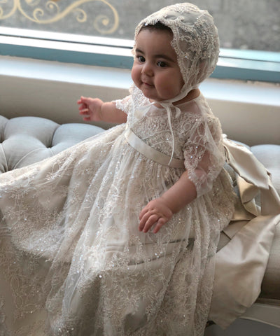 Exquisite Designer and Couture Christening Gowns