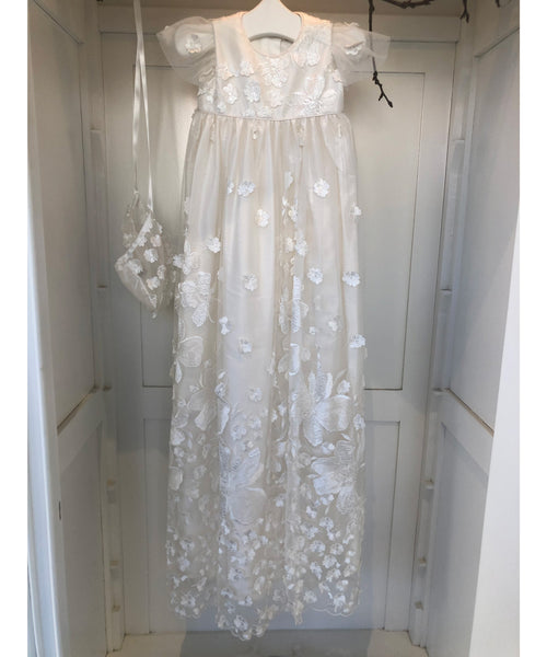 Ivory Blossom Gown Set