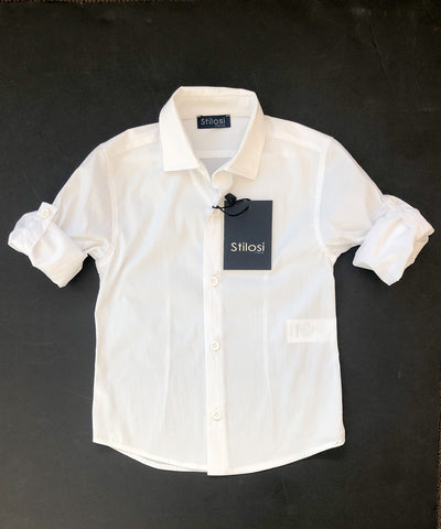 Stilosi Tailored Fit White Shirt
