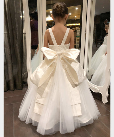 Crystalia Bow Gown