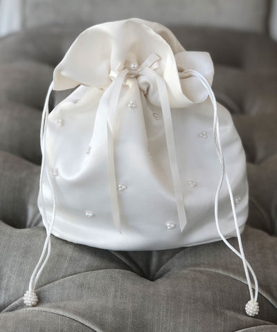 Pearl Beaded Dolly Bag- LAST ONE SALE!