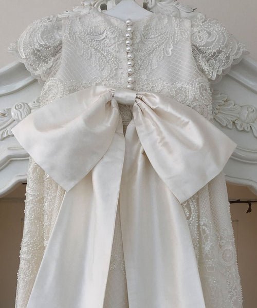 'Queen of Lace' Couture Christening Gown