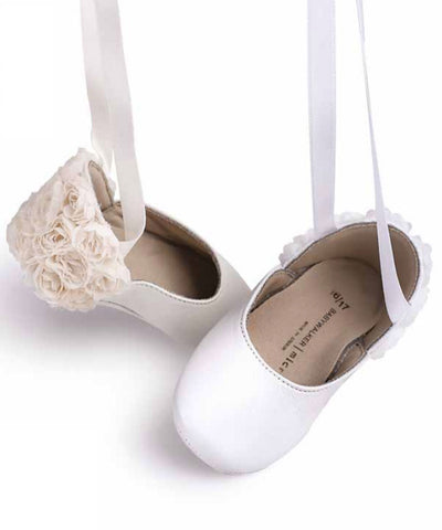 Rosette Baby Ballet Shoes