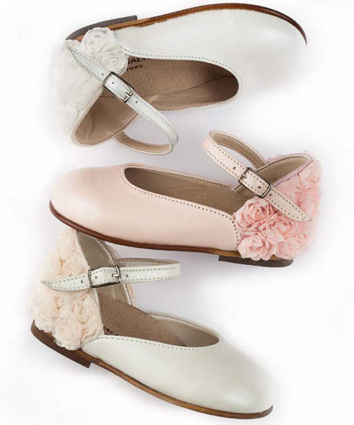 Rosette Detail Shoes