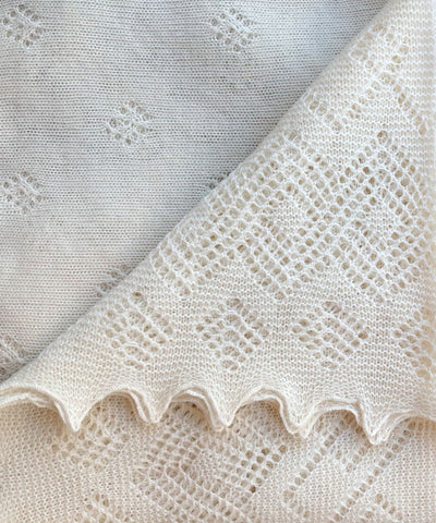 Regal Lace Wool Shawl