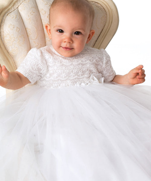 'Rosie' Christening Gown Set - LAST ONE SALE!