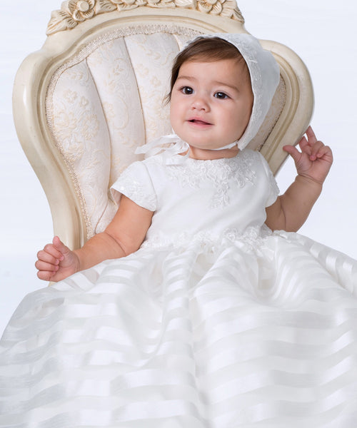 'Bonnie' Christening Gown Set