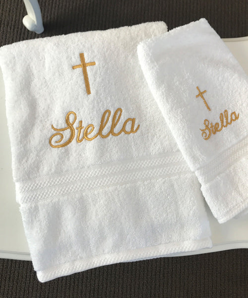 Girls Personalised Towels