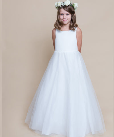 Full Length A-line Tulle Dress