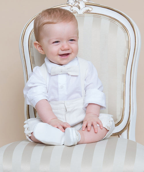 Silk Linen & Linen Boys Occasion Suit Separates