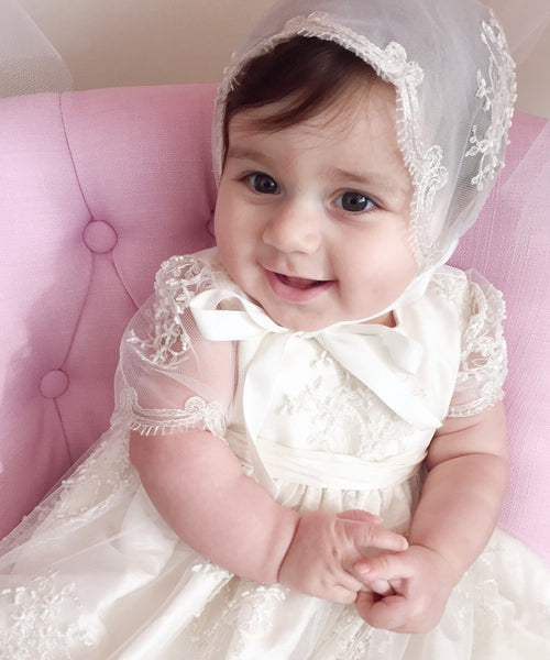 315aae035 'Alissa' Christening Gown – Stellina Cute Couture For Children