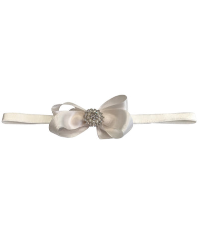 Diamante & Pearl Bow Baby & Toddler Headband