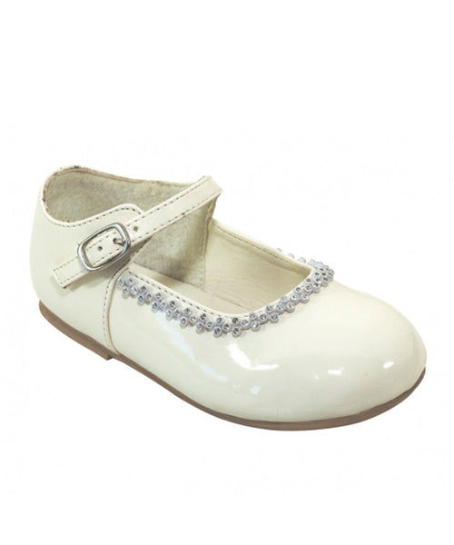 Diamante Trim Mary Jane Shoes