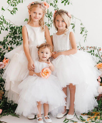 Flower girl dresses australia flower girl dresses sydney stellina princess hi low tulle dress mightylinksfo