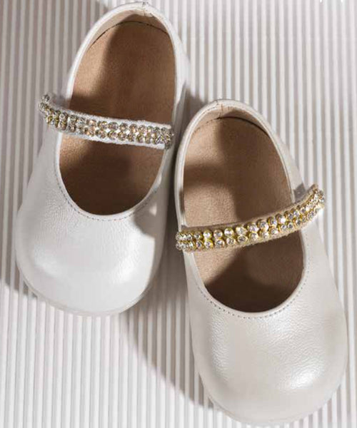 Swarovski Detail Baby & Toddler Shoes