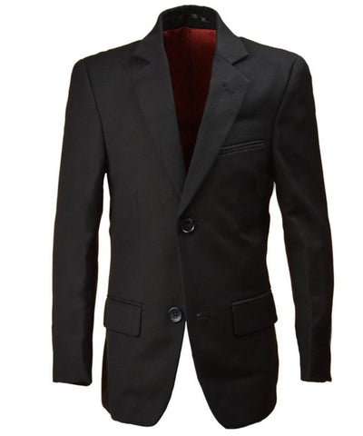 Boys 2-14 Years Wool Blend Slim Fit Suit