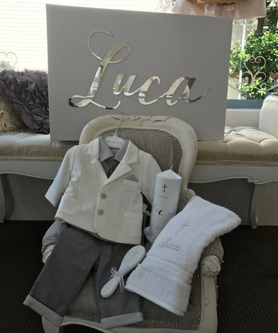 Luca Baptismal Box Set