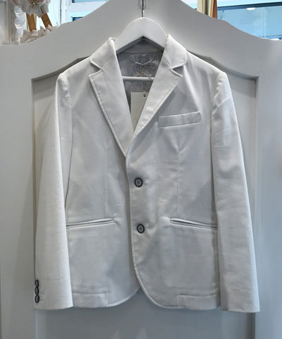 Stilosi Slim Fit Boys Separates - White Blazer