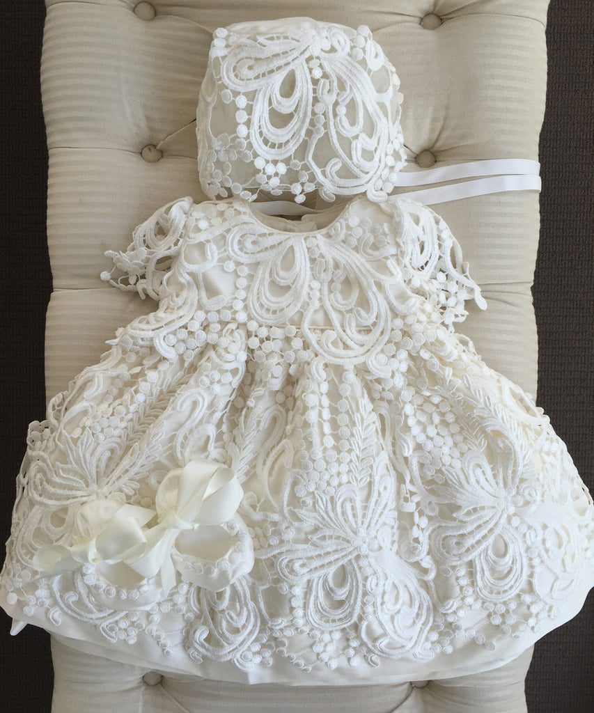 Heirloom Christening Gowns & Dresses – Stellina Cute Couture For ...