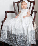 'Sparkling Vines' Christening Gown