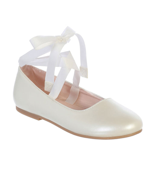 Ballerina Belle Shoes - Ivory