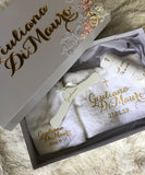 Charlotte Lace Baptismal Box Set