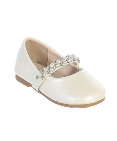 Pearl and Crystal Toddler Shoes