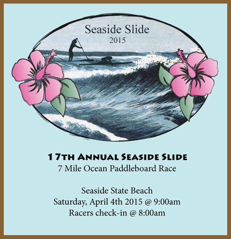 Seaside Slide Race Entry Form - Saturday, April 4th, 2015