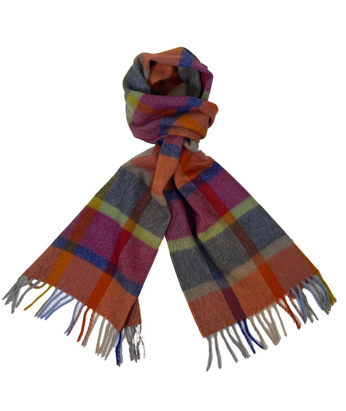 Happy Cashmere Scarf with Fringe
