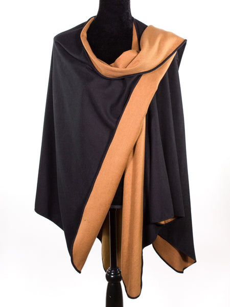 Brushed Silk Cape