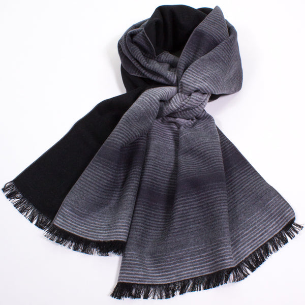 Brushed Silk Ombre Scarf