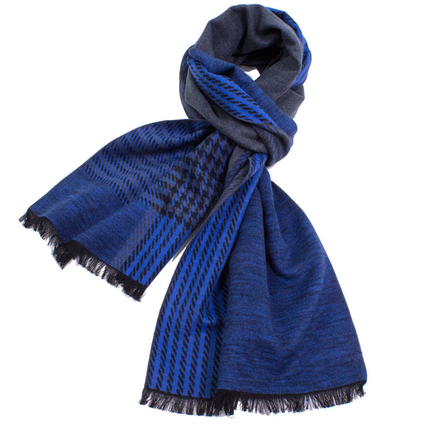 Brushed Silk Plaid Scarf