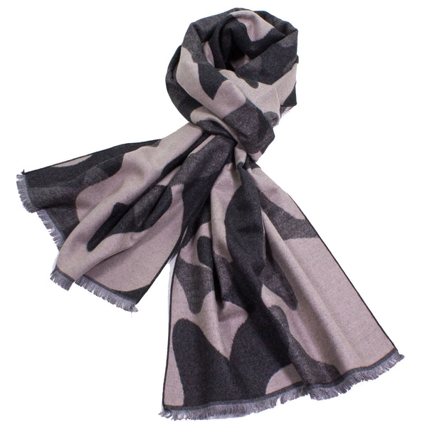 Modern Camouflage Scarf made from 100% Bamboo Fibers