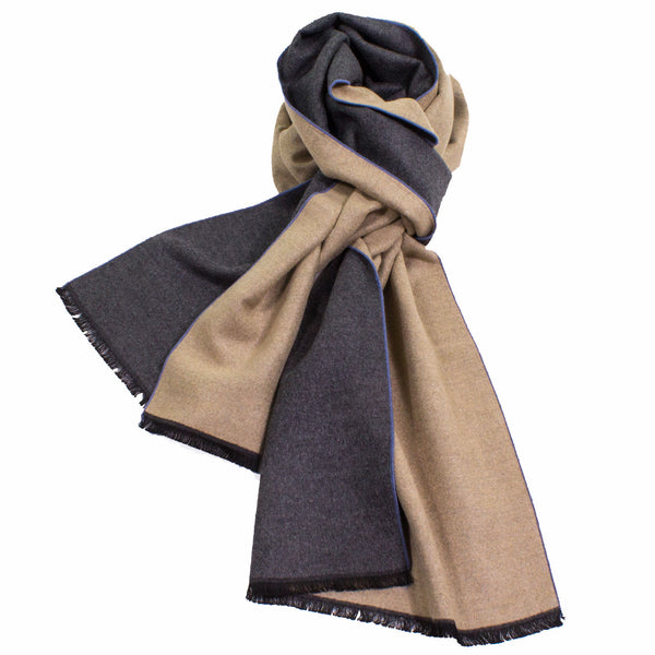 Reversible Luxurious Scarf made from 100% Bamboo Fibers