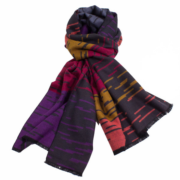 Colorful Scarf made from 100% Bamboo Fibers
