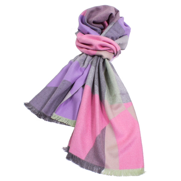 Feminine Abstract Scarf