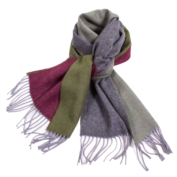 Fabulous Cashmere Blend Scarf with Fringe
