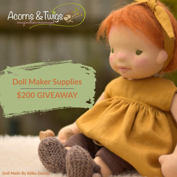 Doll Maker Supplies Giveaway