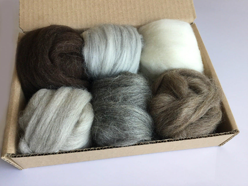 Pre Packaged Felting Wool Sets